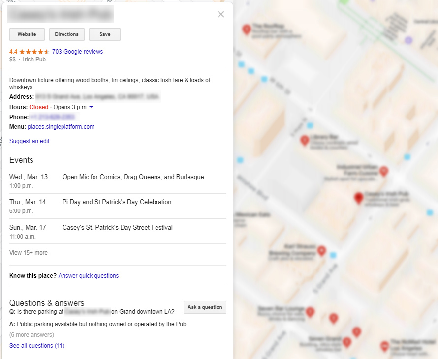 Small businesses found by more online customers with an optimized Google My Business Listing in San Francisco Bay Area