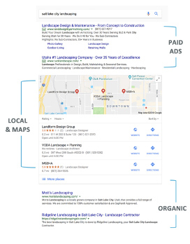 Full-Service SEO to move your website higher in local search rankings